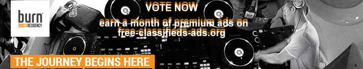 Vote now and earn a month of premium ads https://apps.facebook.com/burnresidency/dj-profile/2173