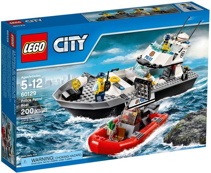 Comparez les prix du LEGO City 60129 Le bateau de patrouille de la police avant de l'acheter ! Infos, description, images, vidéos et notices du LEGO 60129 Le bateau de patrouille de la police sur Avenue de la brique