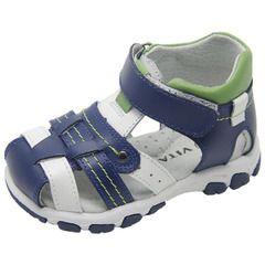 Внешнеторговые экспорт мальчик сандалии Баотоу кожаные кроссовки скольжения летом детская обувь детская обувь для малышей функции
