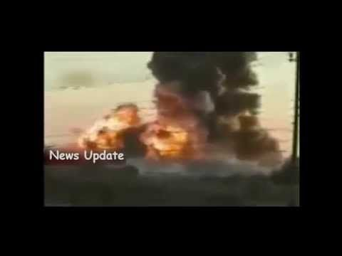 Isis Iraq : A Large Bomb at the Army Base America in Iraq | RAW VIDEO