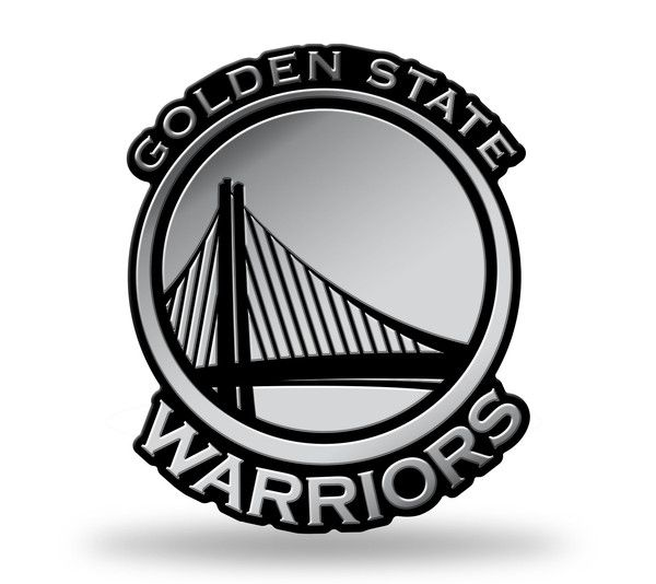 Golden State Warriors Logo 3D Chrome Auto Emblem NEW!! Truck or Car! R – Hub City Sports