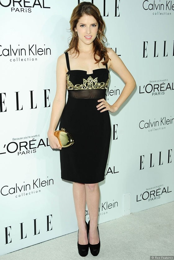 Anna Kendrick... From Pitch Perfect and even Twilight :) Love her!