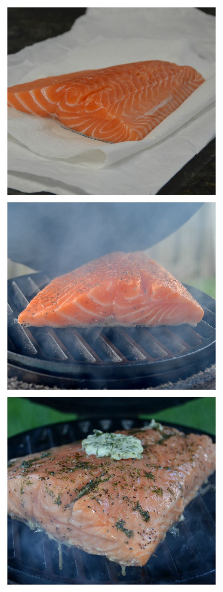 Backyard BBQ of my dreams #Contest with #Publix Salmon on the Big Green Egg | Necessary Indulgences