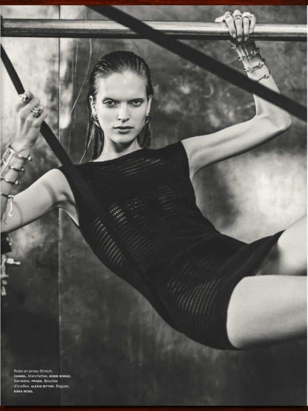 cool Numéro França #143 | Editorial de Moda Maio 2013 | Mirte Maas por Sebastian Kim