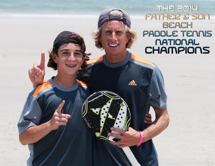 Yanni and Son - St. Augustine 2014 Father and Son Champions