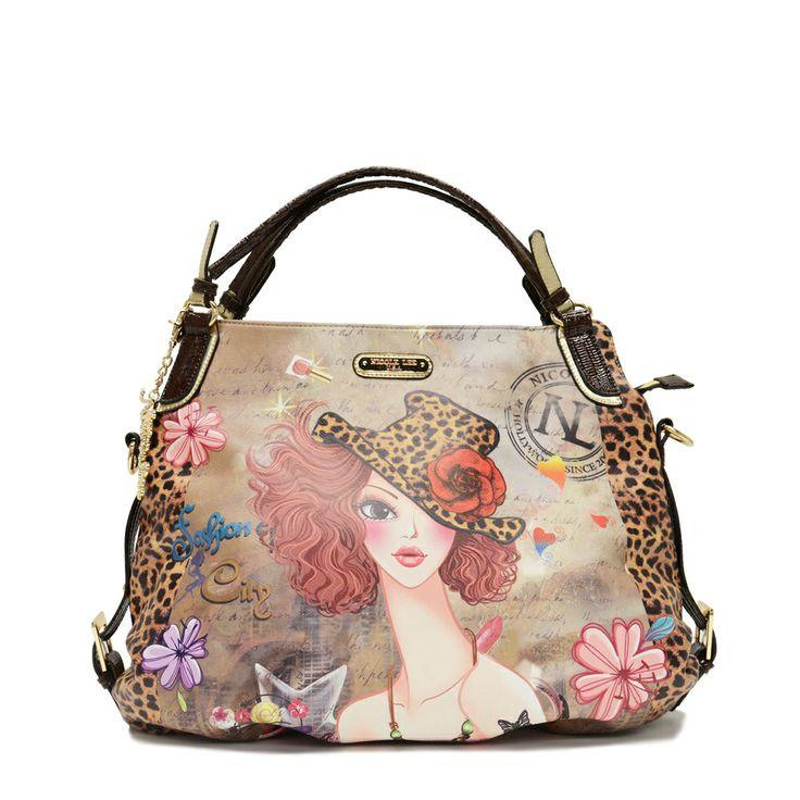 Nicole Lee u0027Sunnyu0027 Chic Print Hobo Bag by nicole lee