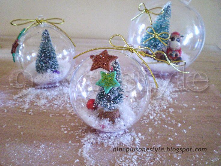Ornamenti di Natale Fai-da-te - DIY Christmas Ornaments