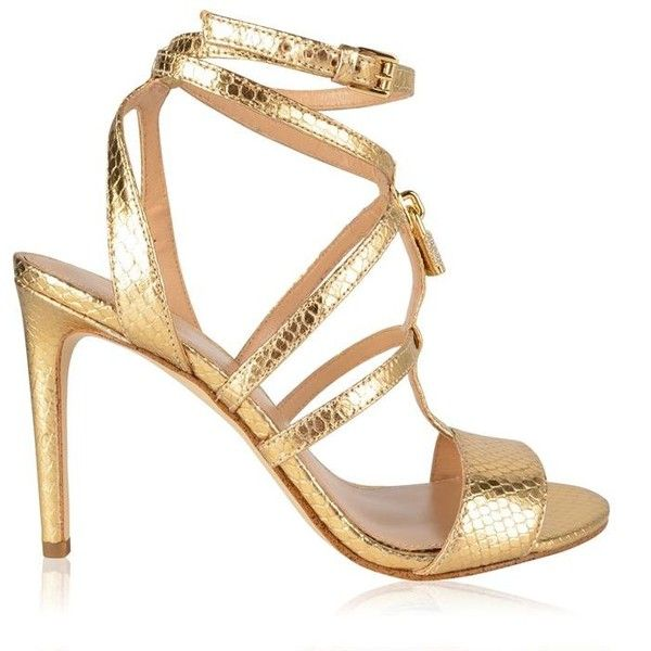 1000  ideas about Gold Strappy High Heels on Pinterest | Gold