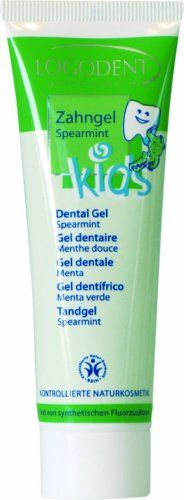 #LOGONA Kids Spearmint Dental Gel has the following features:Specifically developed to meet the requirements of sensitive baby teeth, permanent teeth and childre...