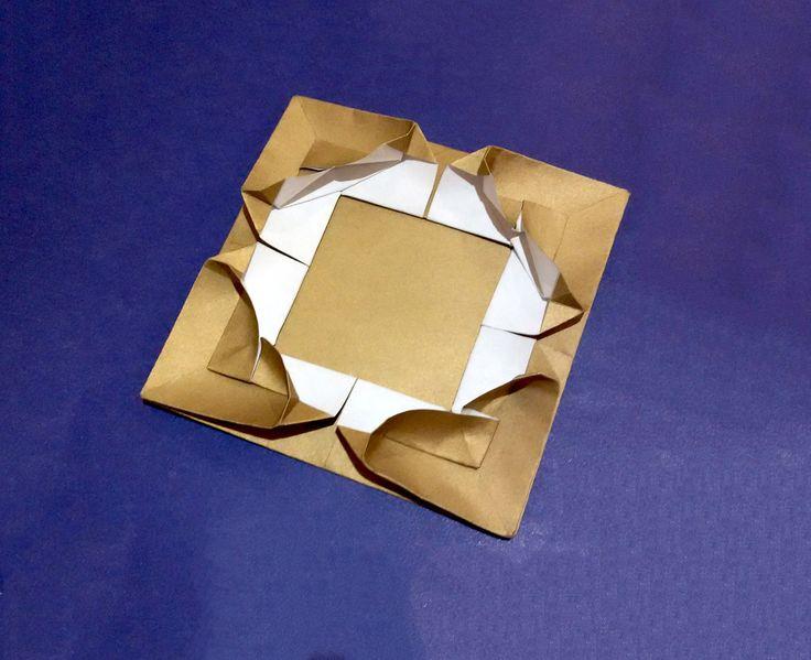 origami genie lamp instructions