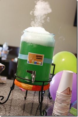 Mad Scientist Potion and lots of other ideas for a Mad Scientist Birthday Party