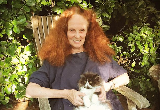 What does Grace Coddington have next up in her illustrious style career? An original perfume it seems. But then, we knew she'd be a perfume lover.
