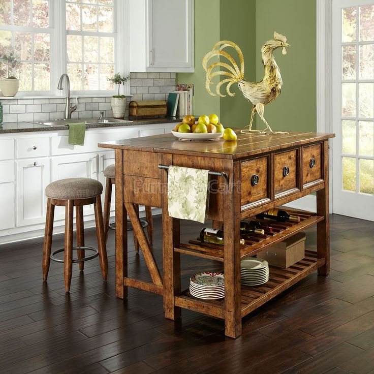 Southern Pines Loblolly Kitchen Island Set Klaussner  Furniture Prepossessing Klaussner Dining Room Furniture Review