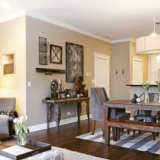 Perfect greige sw 6073 sherwin williams living room - Perfect paint color for living room ...