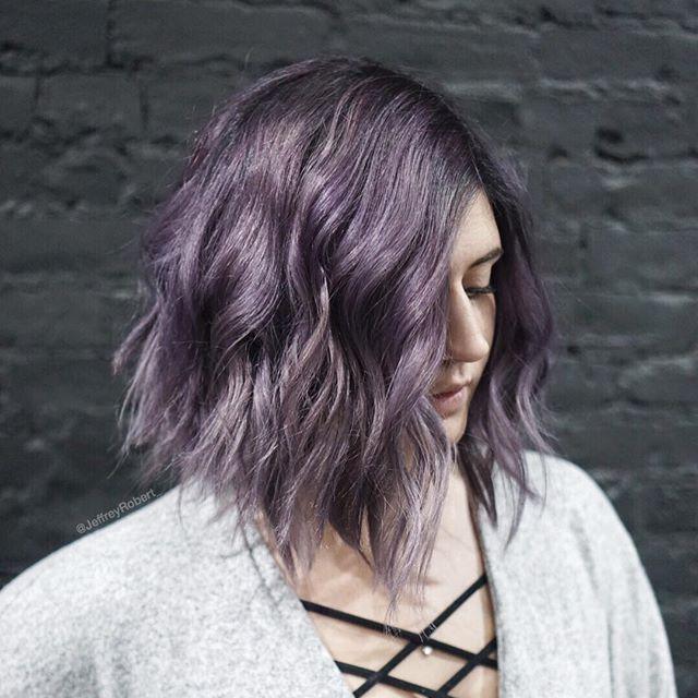 Smoked plum 🔮🚬 New York ily  #HairByJeffreyRobert