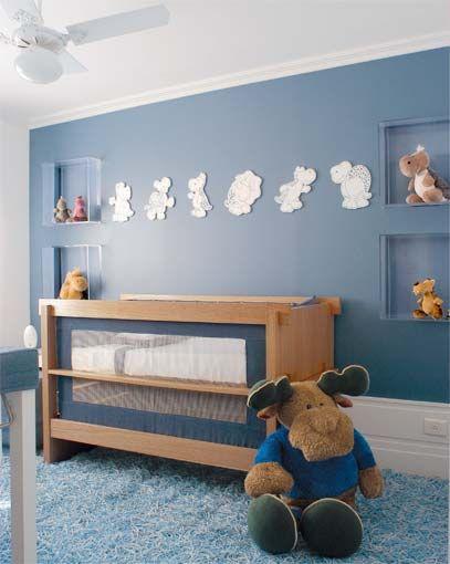 menino, azul, branco, madeira, vidro