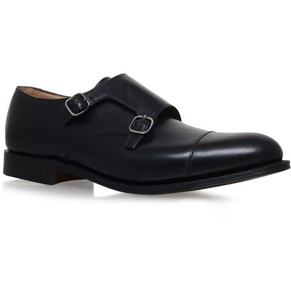 Church's Double Monkstrap Brogue (3,195 CNY) ❤ liked on Polyvore featuring men's fashion, men's shoes, men's oxfords, mens double monk strap shoes, mens brogue shoes and mens leather shoes