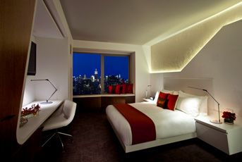 W Hotel Downtown, NYC standard guest room
