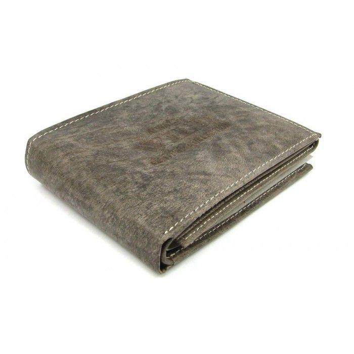 Kožená moderní pánská peněženka - peněženky AHAL