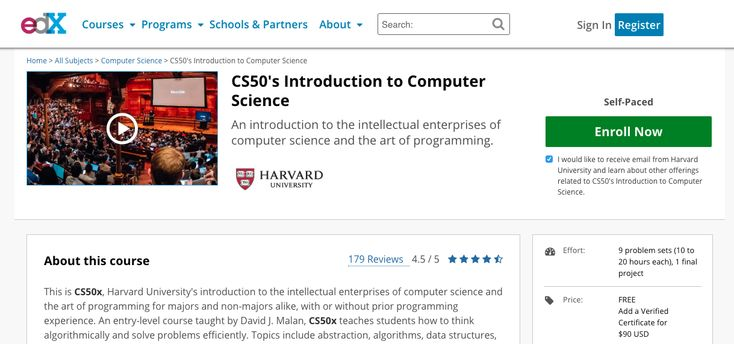#Harvard University Online Course: Introduction to Computer Science  https://sclrship.com/universities/harvard-university/harvard-university-online-course-introduction-computer-science/    #sclrship #onlineDegree