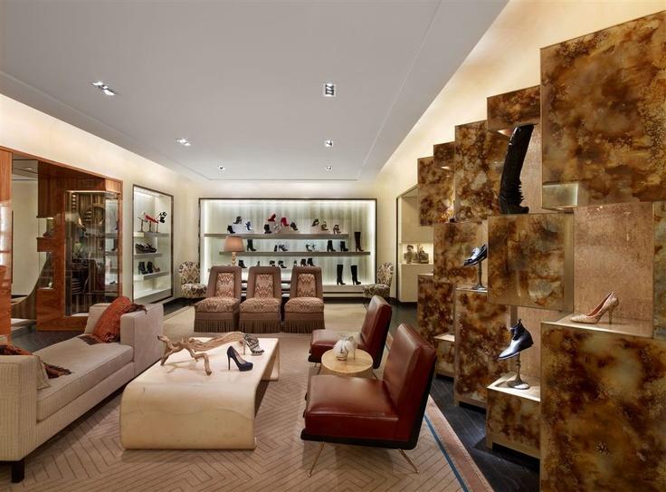 Rawlins Design Inc. Bergdorf Goodman Designer Shoe Salon Photos by ...