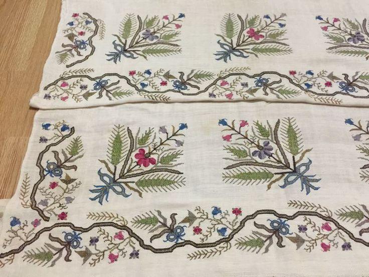 ottoman embroidery hammam towel