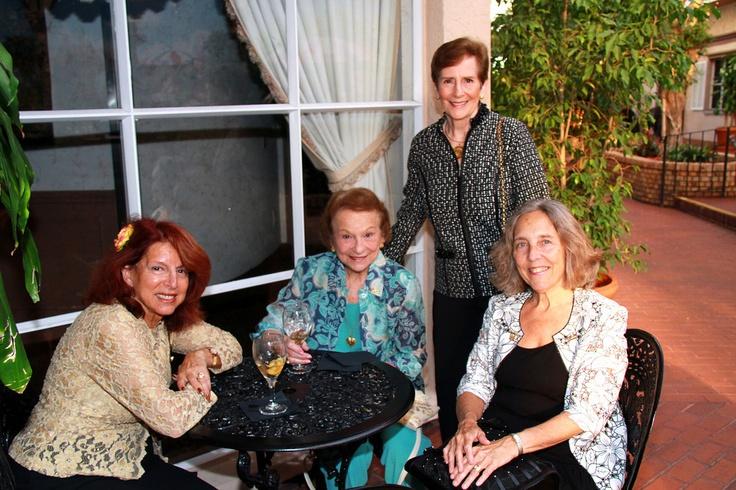 Betty Greenspan, Betty Schoenbaum, & Shelly Fegel, national president of ORT International at the One World Gala on March 28, 2012