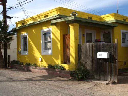 Tonos de amarillo fachadas pinterest - Pinturas modernas para casas ...