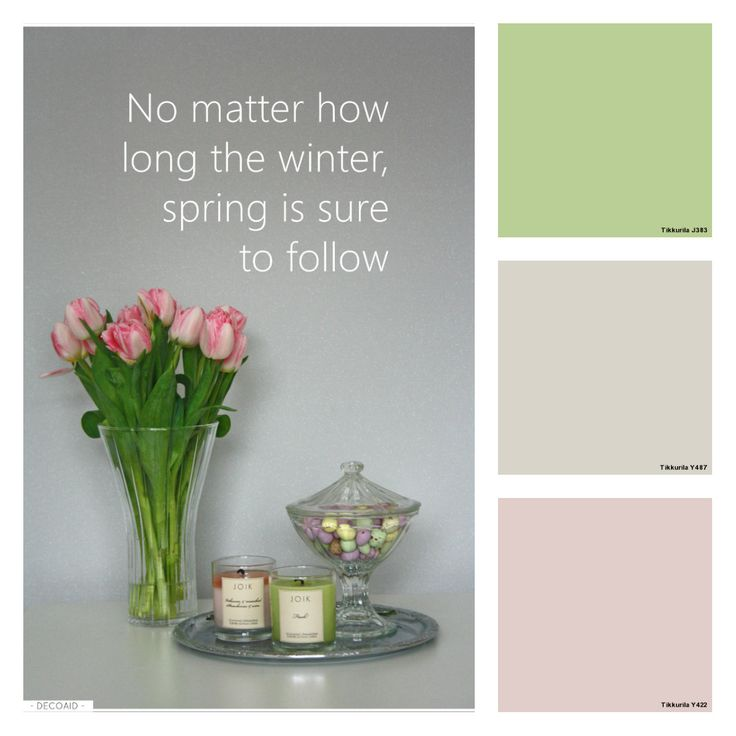 Dare to paint some spring on your walls? :)