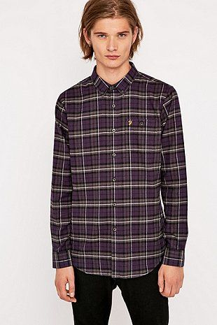 Farah Prince of Wales Check Shirt - Urban Outfitters