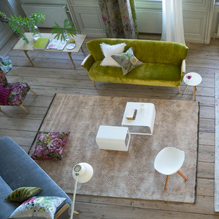 Roxburgh Linen Rug by Designers Guild