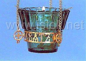 Vigil lamps: Oil lamp - 21 - Istok Church Supplies