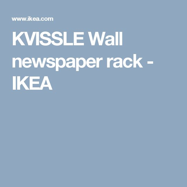 """Ikea Patrull Corner Bumpers ~ Über 1 000 Ideen zu """"Zeitungsständer Wand auf Pinterest"""