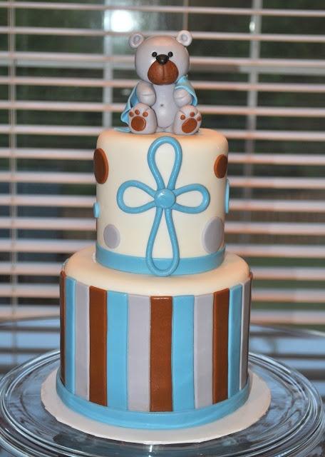 Little Bear Christening Cake