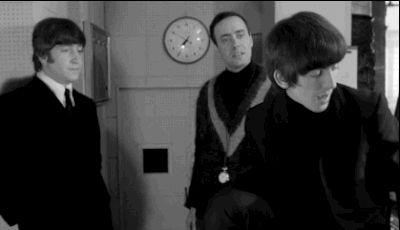 """When George does some DIY special effects. 