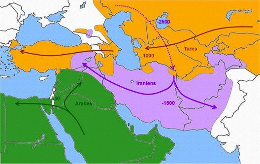 Etude de cas : le Proche et le Moyen-Orient par les cartes - blog histoire geographie lycée eaubonne