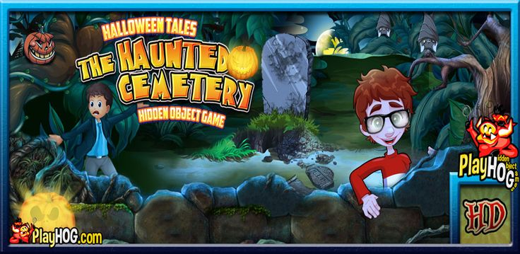 Halloween Tales - Haunted Cemetery - Find Hidden Object Game [Download] @ niftywarehouse.com #NiftyWarehouse #Halloween #Scary #Fun #Ideas