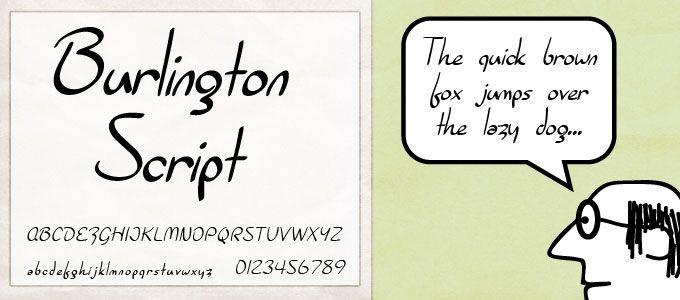 burlington_script