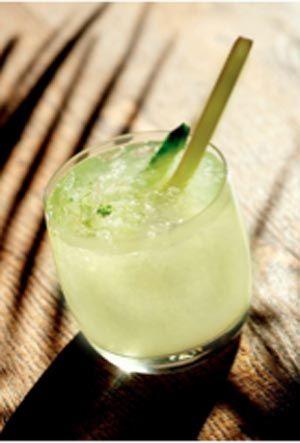 coconut limeade cocktail