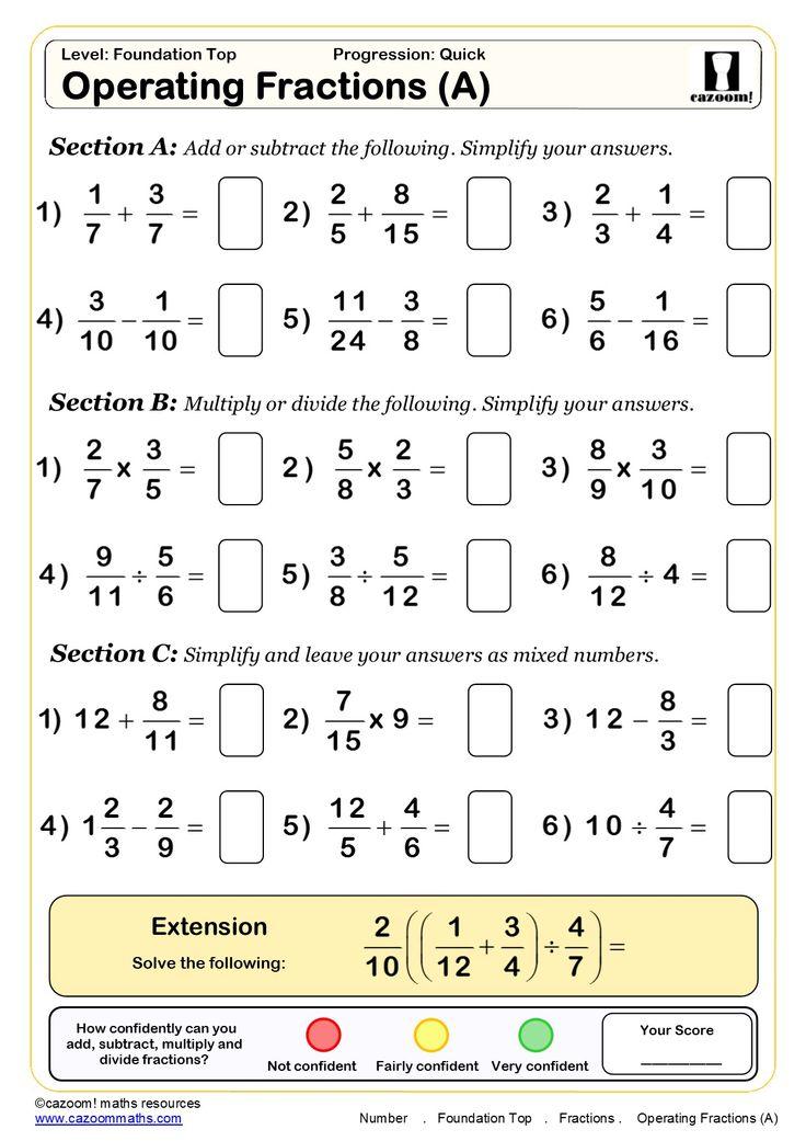 30 Free Maths Worksheets Cazoom Maths Worksheets Math