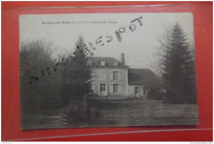 C P  Savigny Sur Braye Chateau De Valgay