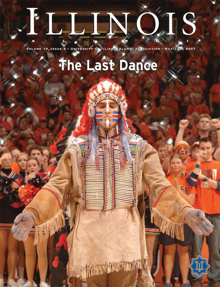 University of Illinois Fighting Illini. Chief Illiniwek was forced into a highly controversial retirement by the NCAA. Currently no replacement has been made.