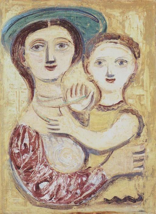 by Massimo Campigli (Italian 1895 - 1971)