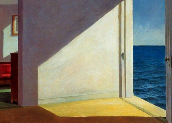 """If you could say it in words, there would be no reason to paint."" – Edward Hopper"