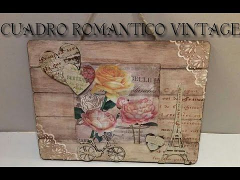 17 best images about transfer decoupage on pinterest - Cuadros shabby chic ...