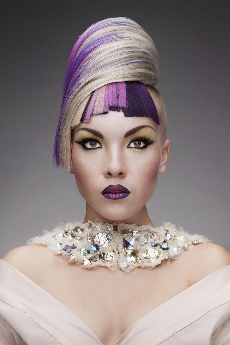 Color finalist Iryna Fraiuk, Ukraine. Trend interpretation: Fusion