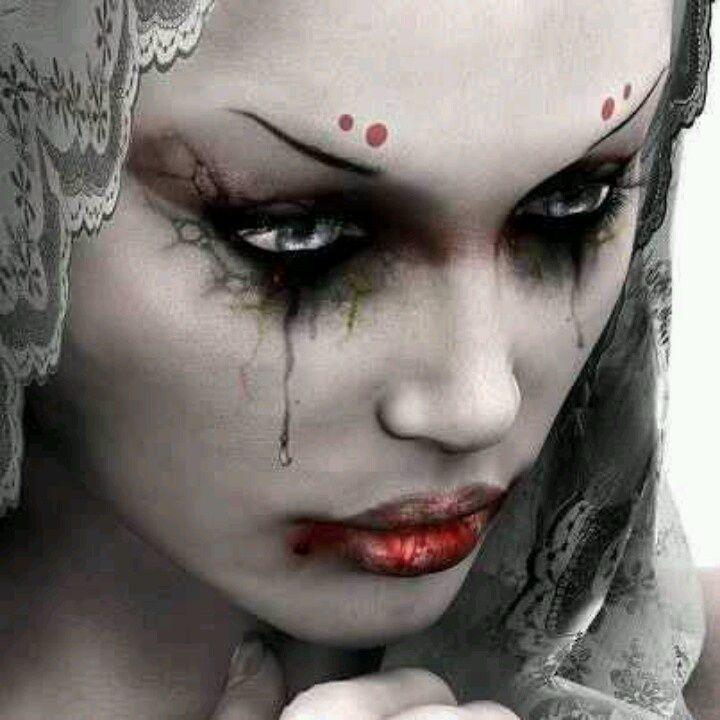 pics theatrical makeup   via tammy shaw