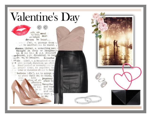 """Valentine's Day -2"" by desiresinstyle on Polyvore featuring moda, ALDO, Agent Provocateur, Tamara Mellon, UN United Nude, Topshop, Michael Kors, women's clothing, women e female"