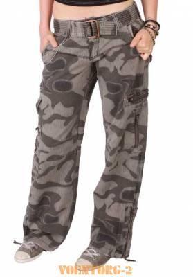 Военная одежда брюки женские