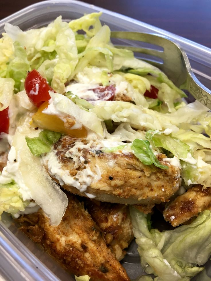 Tandoori chicken salad for lunch! #yourinspirationathome #yiah leahmckain.yourinspirationathome.com.au